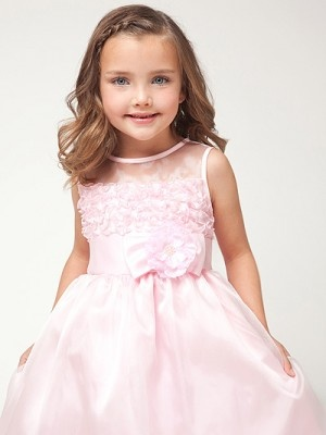 1000  images about pretty flower girl :) on Pinterest  Satin ...