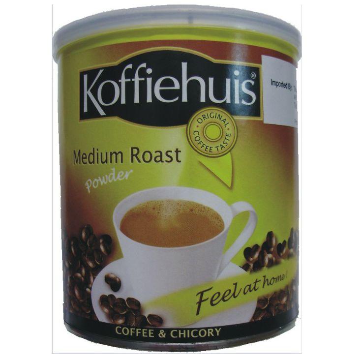 Koffiehuis Medium Roast Coffee - http://www.saffatrading.co.za/pKOF002/Koffiehuis-Medium-Roast-Coffee.aspx