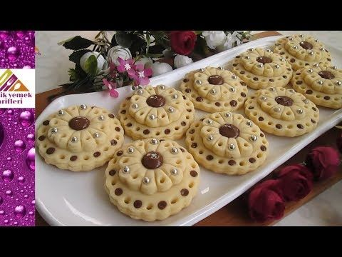 Düğün Kurabiyesi Tarifi- Pratik Yemek Tarifleri - YouTube