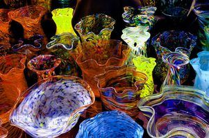 Creating slumped glass projects in a kiln is a popular hobby.