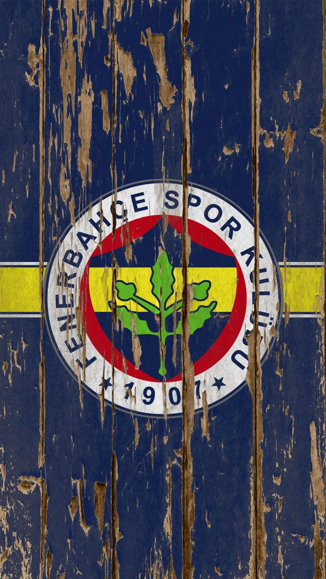 Fenerbahce Football Club Wood Logo iPhone 5 Wallpaper - http://freebestpicture.com/fenerbahce-football-club-wood-logo-iphone-5-wallpaper/