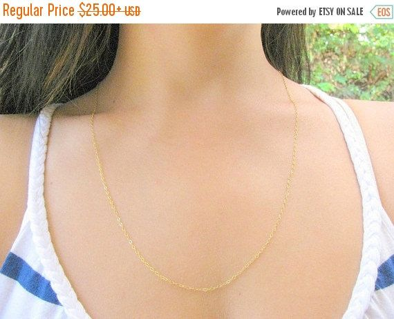 New Year Sale  Long necklace  Long gold necklace  by MoonliDesigns