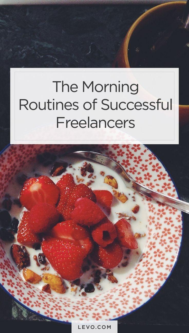 Do you have a similar routine? - levo.com #mornings #freelancelife
