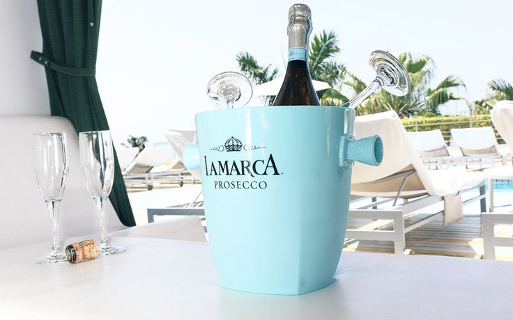 Cheers to that: What's better than prosecco? Mini bottles of prosecco that you can have all to yourself! La Marca Prosecco mini 157mL bottle $5