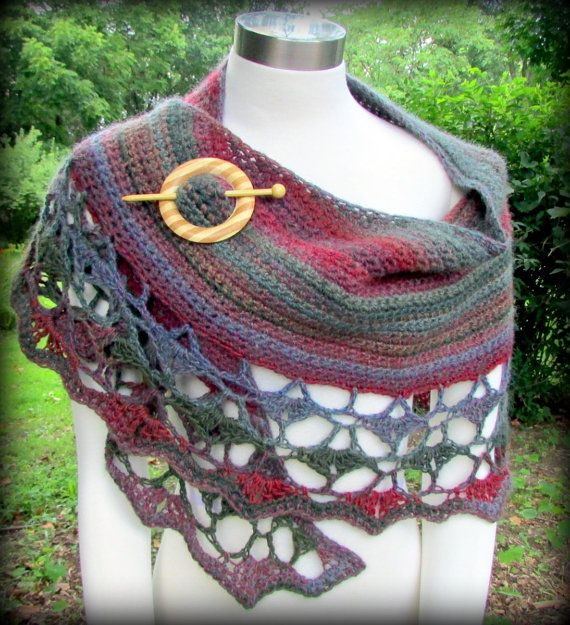 25+ best ideas about Crescent Shawl on Pinterest Knit ...