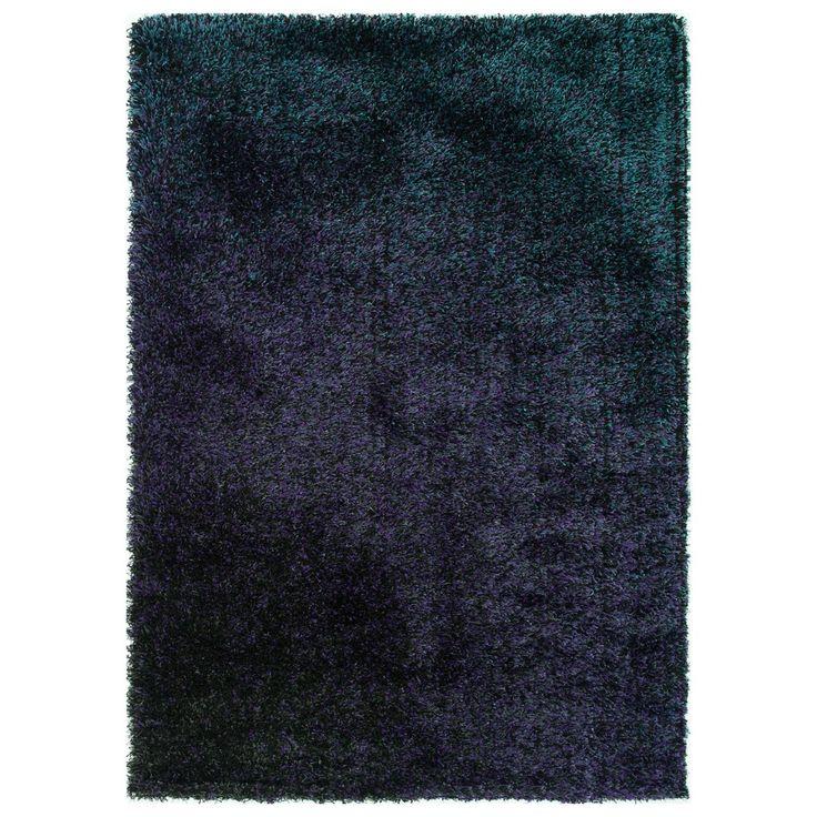 Stella Purple Shag Rug (7'7 x 10'5) | Overstock.com