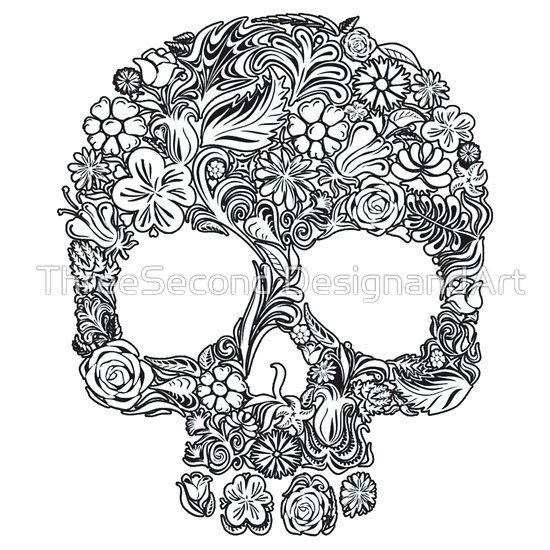 224 best Day of the dead color pages images on Pinterest Coloring - fresh day of the dead mandala coloring pages