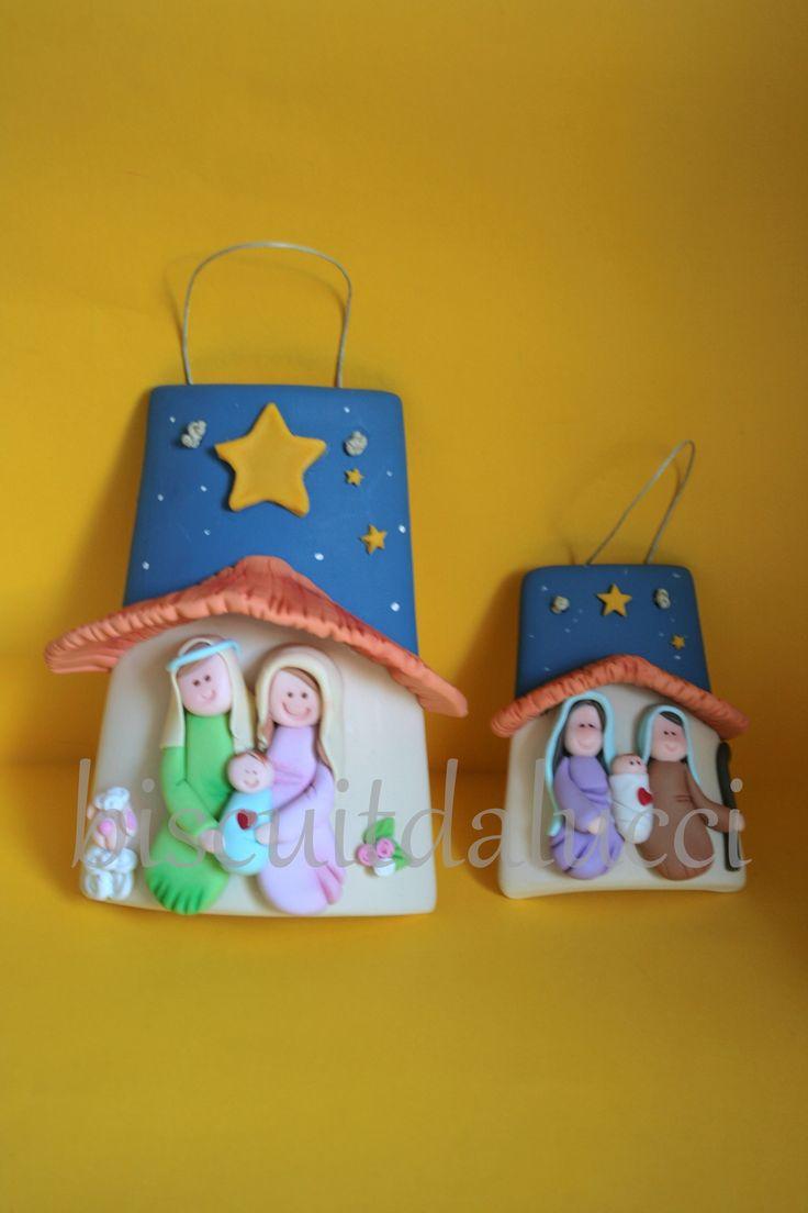 Natal. #Biscuit, porcelana fria, #natal, #christmas, #natividad.