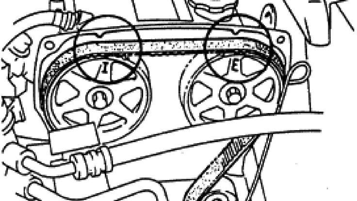 Mazda 323 ZL (Familia) - замена ремня ГРМ