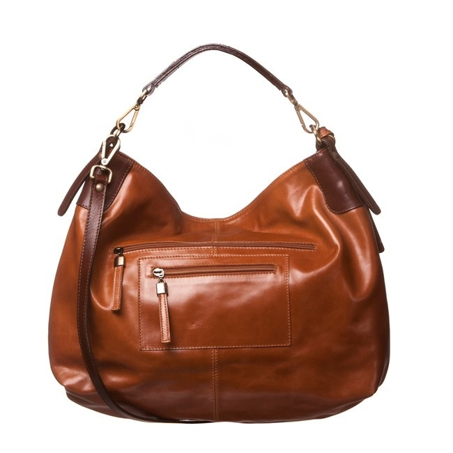 Peony & Moore Leather Slouch Bag > Buy Online at The Handpicked Collection