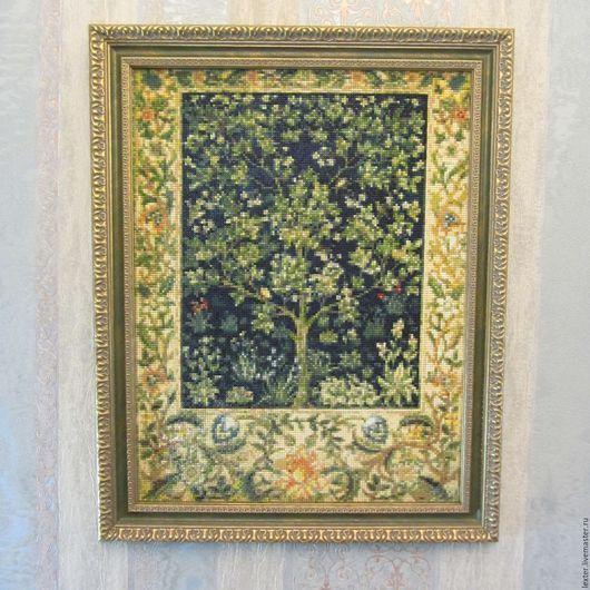 Абстракция ручной работы. Ярмарка Мастеров - ручная работа. Купить Картины и панно ручной работы.Картина из алмазной мозайки Древо жизни. Handmade.