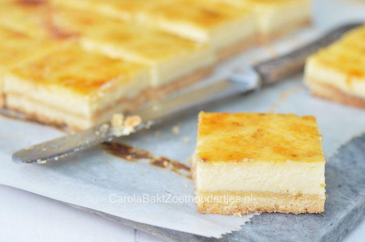 Cheesecake van Krasnapolsky Amsterdam