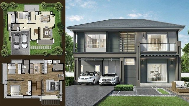 205 Sq M House Ideas With 5 Bedrooms House Story House 10 Marla House Plan