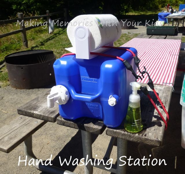 25 Best Ideas About Camping Hand Washing Station On
