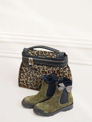 Botas y bolso de Twin Set