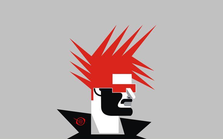 Post Punk Rock Style Wallpaper