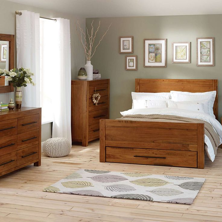 columbia acacia dark wood bedroom furniture collection dunelm