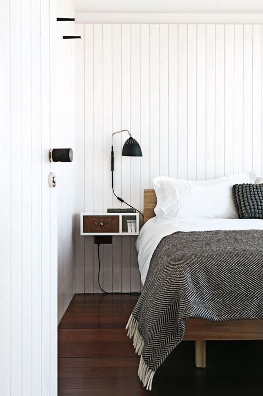 25 best ideas about wall mounted bedside lamp on. Black Bedroom Furniture Sets. Home Design Ideas