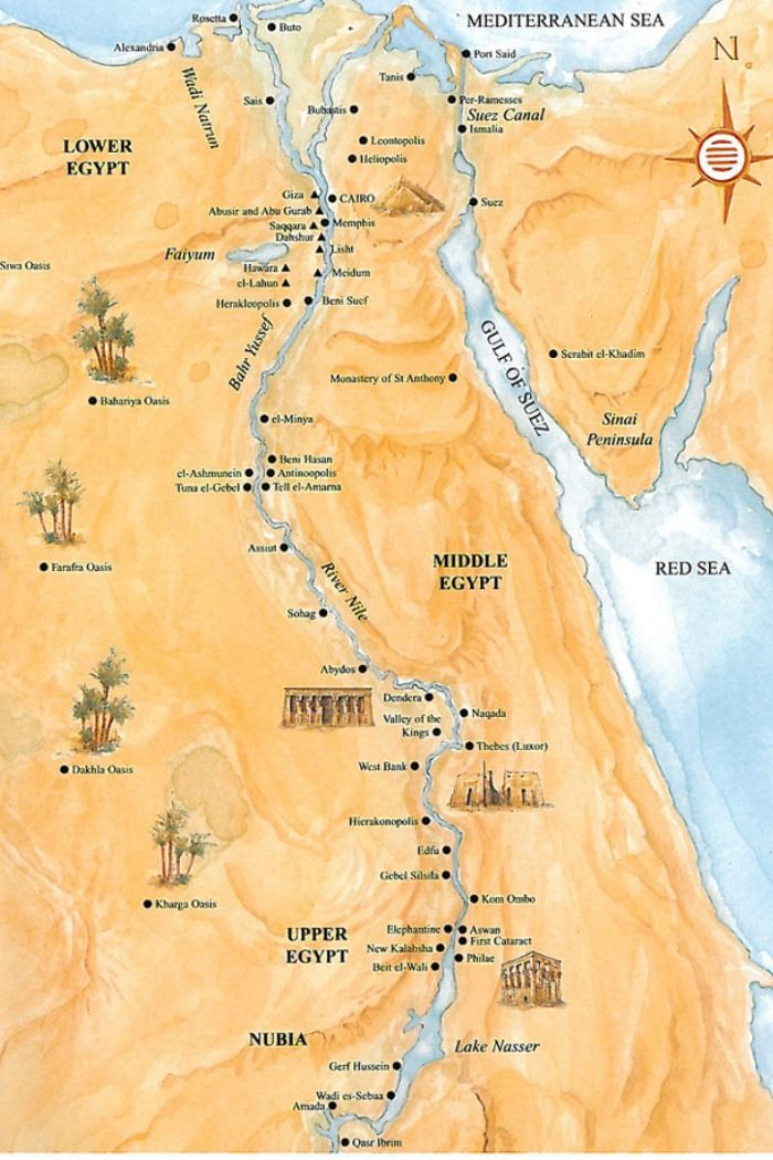 Ancient Egypt Map En 2020 Egipto Antiguo Historia Egipcia Egipto