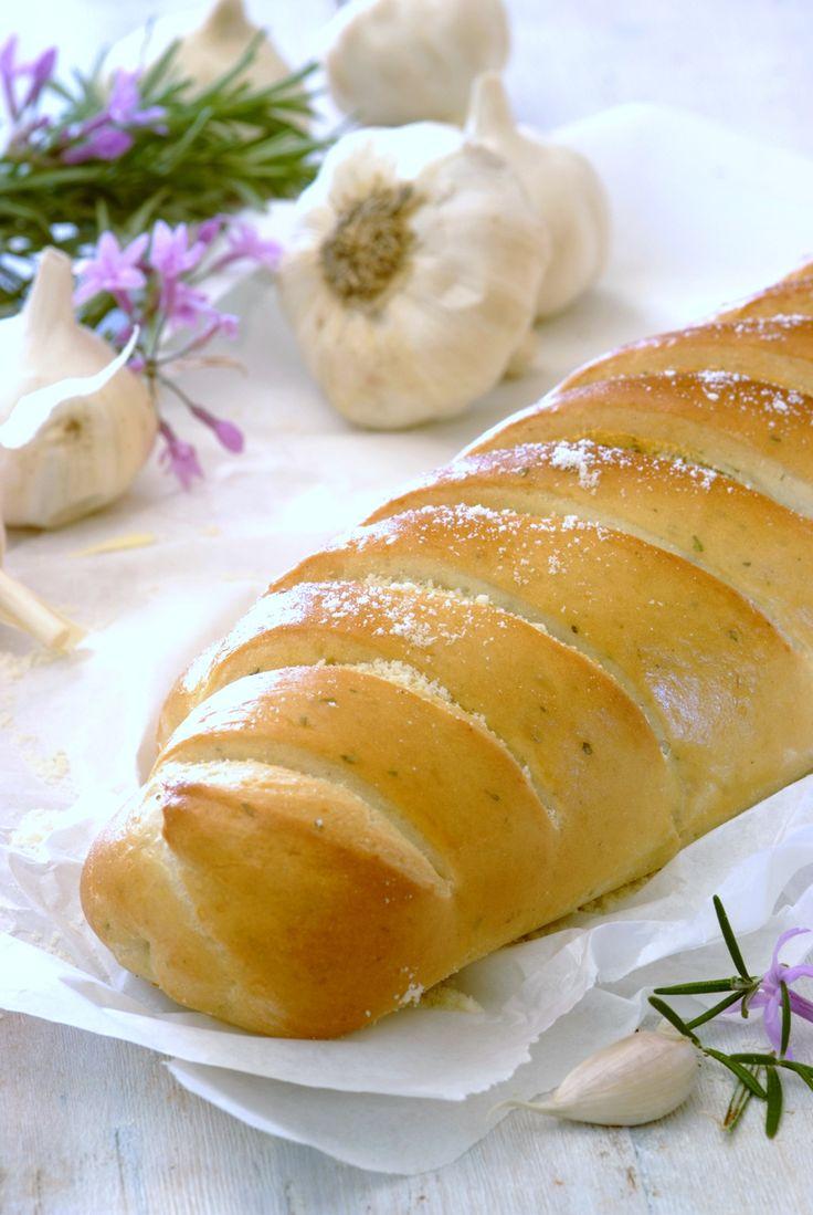 Garlic & Herb Parmesan Loaf!
