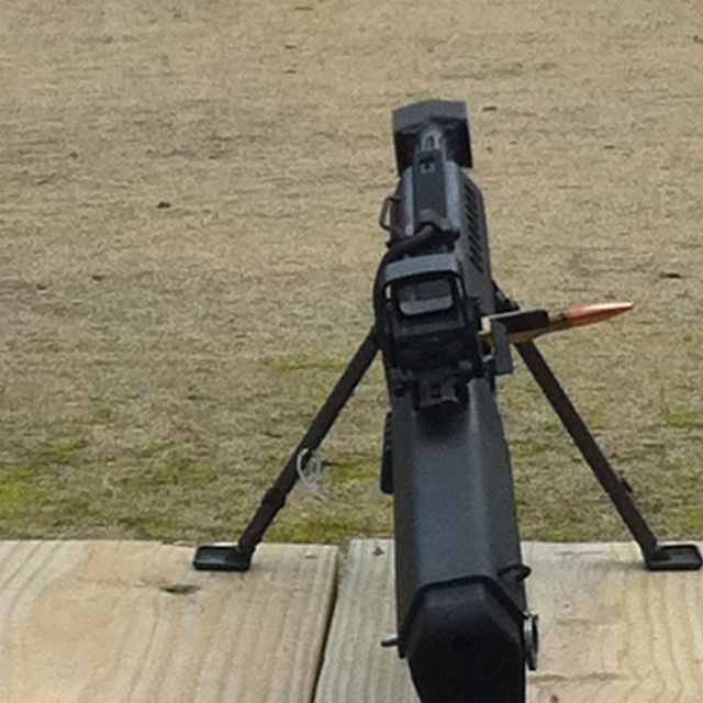Barrett .50 cal, range quals at Sig Academy!!!