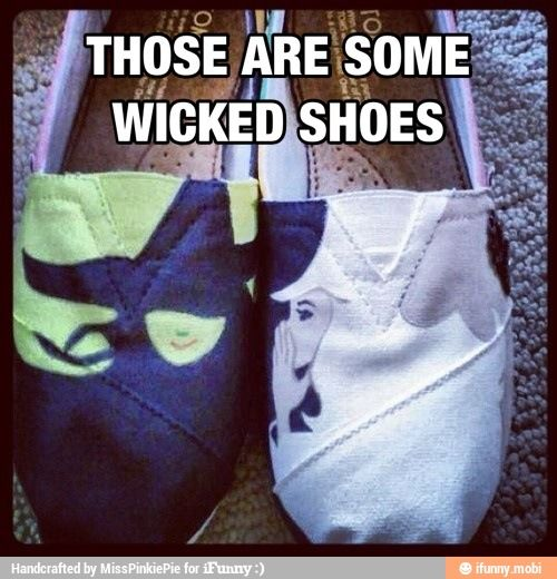 """""""Wicked"""" Shoes"""