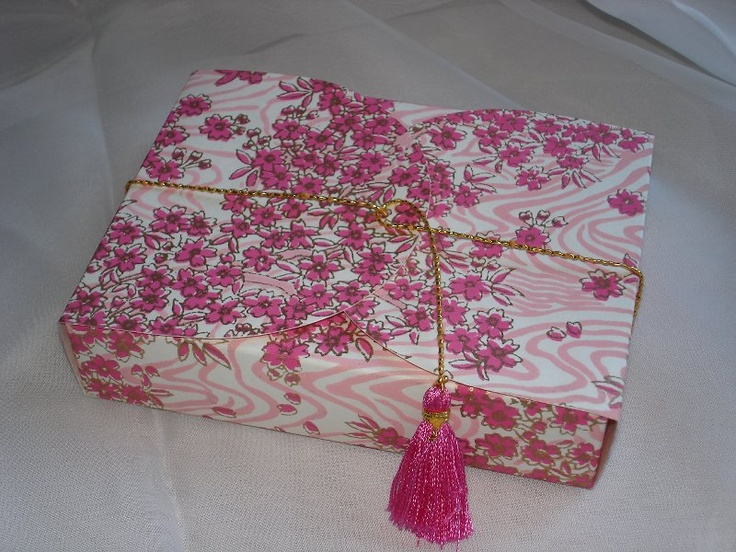 Pink # 131 Collapsible Box  (54)