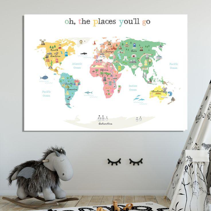 Best 25+ Map Canvas Ideas On Pinterest