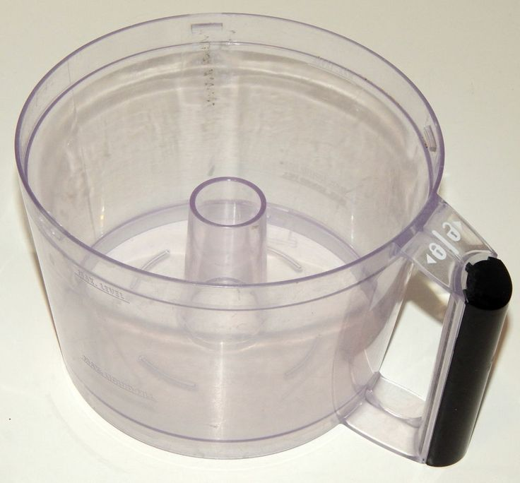 Bowl with Black Handle for Hamilton Beach Food Processor 70670 Replacement #HamiltonBeach