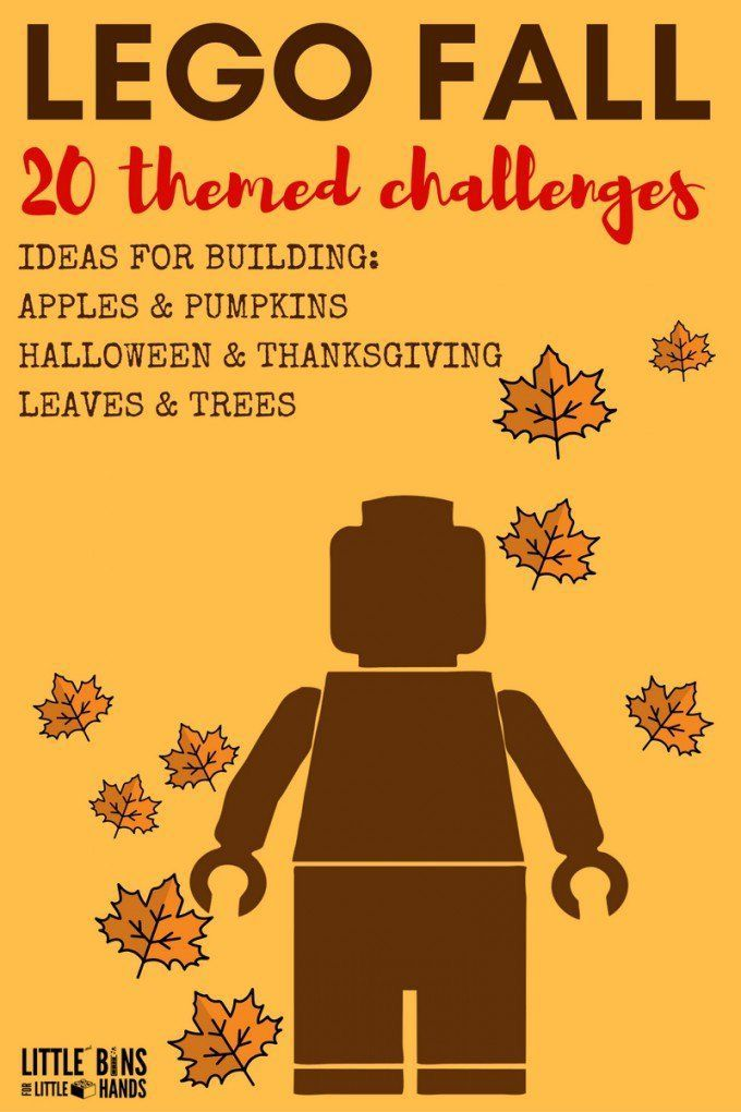Fall LEGO Building Ideas
