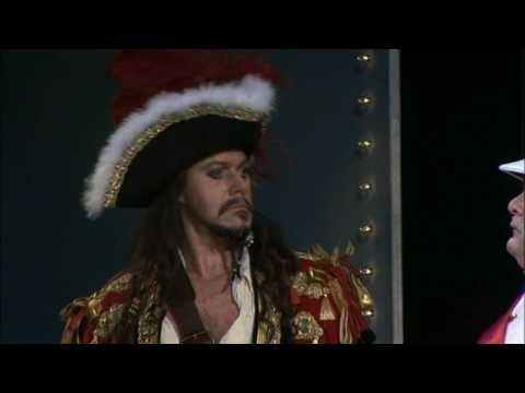The Pirates of Penzance - Gilbert and Sullivan / Australian Opera . This is just the cutest Major-General ever, and Anthony Warlow makes a great Jack Sparrow-like Pirate King!  Love the DVD!