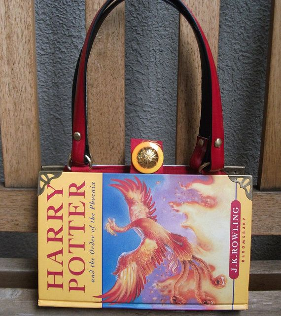 Harry Potter Book Bag : Harry potter and the order of phoenix book bag would