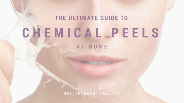 The ULTIMATE GUIDE to Chemical Peeling at home. Complete instructions including videos plus the BEST PRODUCTS based on professional & consumer reviews!