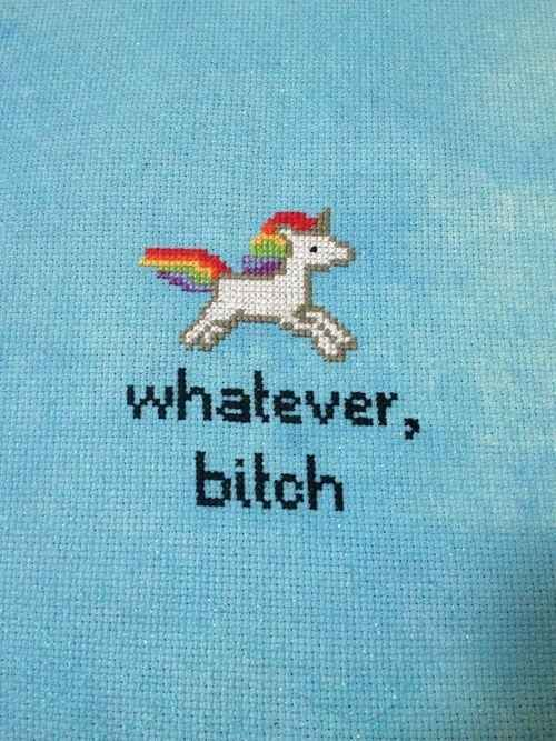 This gem. | 21 Delightfully Sweary Cross Stitches You Need In Your Life