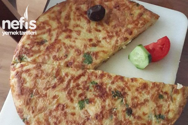 Pacman Patatesli Omlet