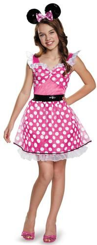 Pink Minnie Mouse Teen/Tween Costume