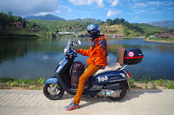 Ban Rak Thai, Mae Hong Son, Thailand | Trip to Maehongson ride around the mountain and visit many wonderful place. | SYM Fiddle II 125