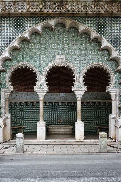 morisca font - Sintra, Lisboa, Portugal