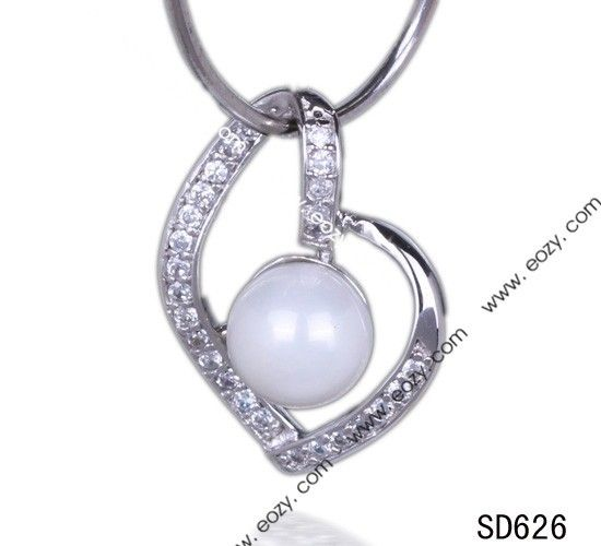 18 best the charm of pearl pendant images on pinterest pearl wholesale 23x17mm 925 sterling round pearl bead silver heart pendant charm for necklace shopping online aloadofball Choice Image