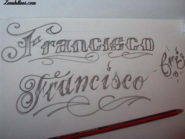 Tatuajes En Letras Goticas Francisco Tattoo Ideas Arabic