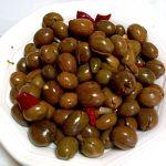 La ricetta delle olive verdi schiacciate calabresi
