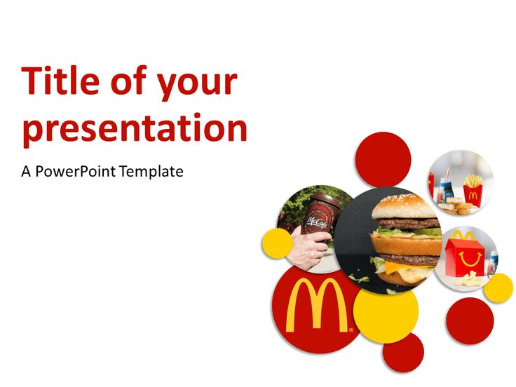 McDonald's Free PowerPoint Template