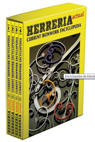 LIBROS DVDS CD-ROMS ENCICLOPEDIAS EDUCACIÓN EN PREESCOLAR. PRIMARIA. SECUNDARIA Y MÁS: HERRERIA ARTISTICA FORJA HERRERIA ACTUAL