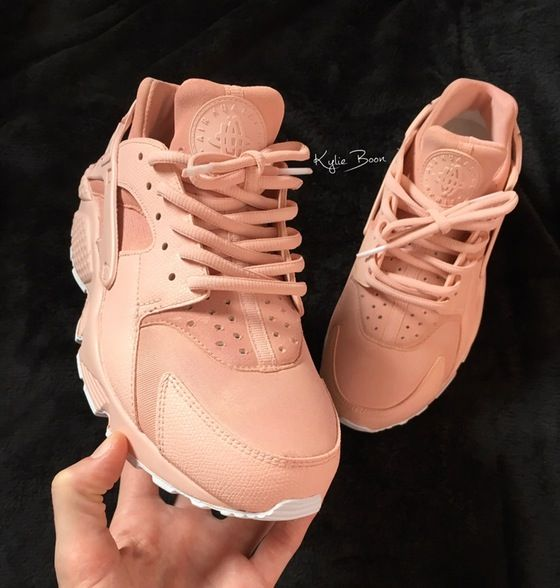 buy online 4af91 b1843 Image of PEARL ROSE-GOLD full Huarache custom.   nike hearathce in 2019    Adidas sneakers, Huaraches, Rose gold huaraches