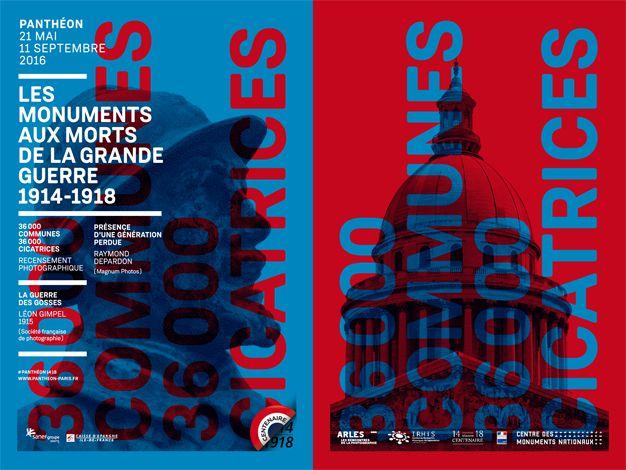Juillet : exposition Les monuments aux morts de la Grande Guerre 1914-1918 au Panthéon