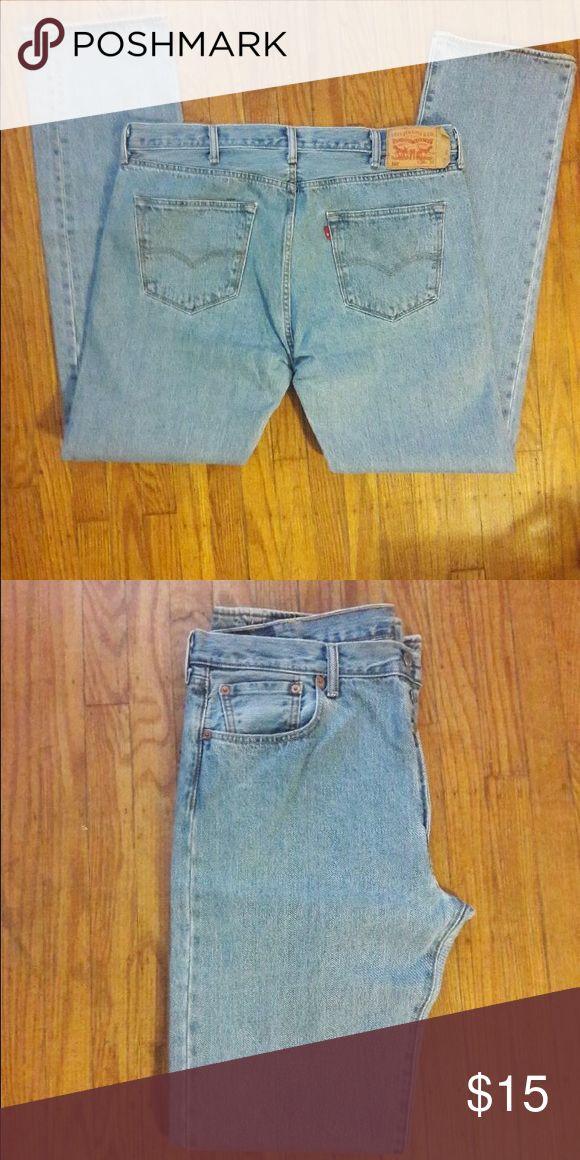 Men's Levi 501 Button Fly Jeans Men's Levi 501 Button fly Jeans 38/36 Levi's Jeans Straight