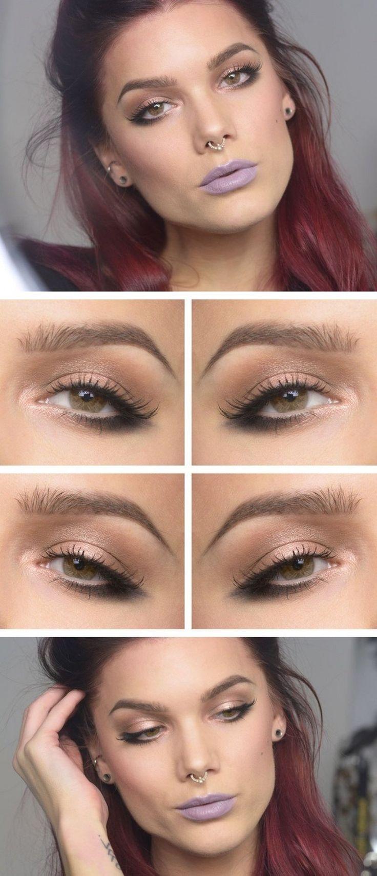 Ciekawy makijaż i stylizacja