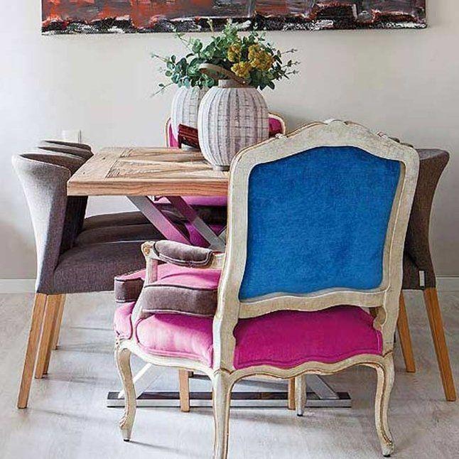 Butaca estilo luis xvi retapizada sillas tapizadas - Butacas altas ...