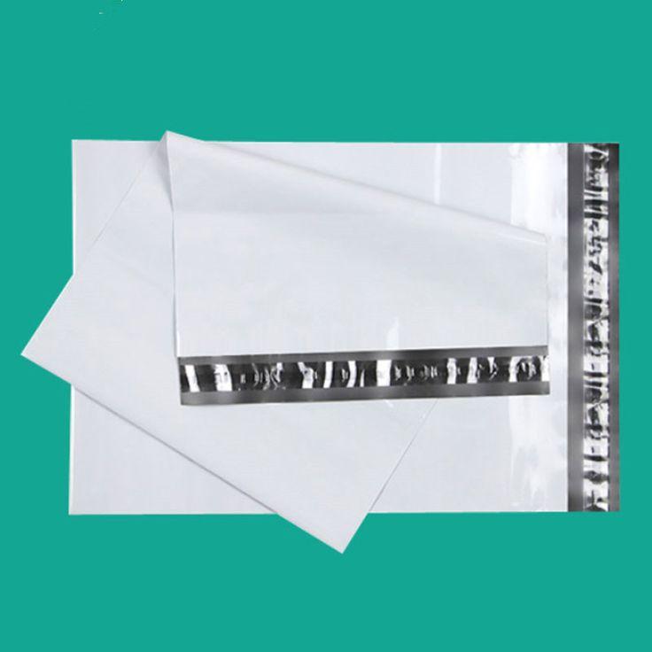 (10 أجزاء/وحدة) 23x35 سنتيمتر الأبيض حقائب ساعي البريد حقيبة مغلف ساعي الشحن حقيبة