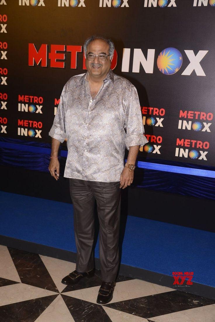 Mumbai: Devendra Fadnavis, Amruta Fadnavis and Boney Kapoor at the inauguration of a cinema theatre - Social News XYZ